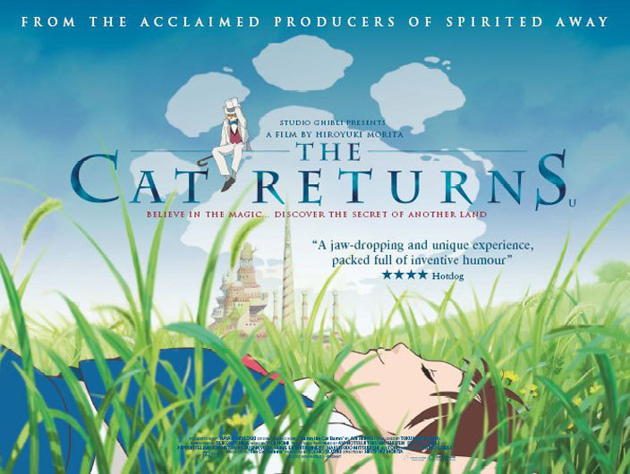 Cat Movies Animated Movie Review The Cat Returns