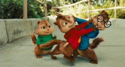 Alvin and the Chipmunks 3: Chip-Wrecked wallpaper called The Chipmunks and The Chipettes