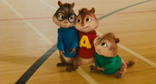 Alvin and the Chipmunks 3: Chip-Wrecked वॉलपेपर titled The Chipmunks and The Chipettes