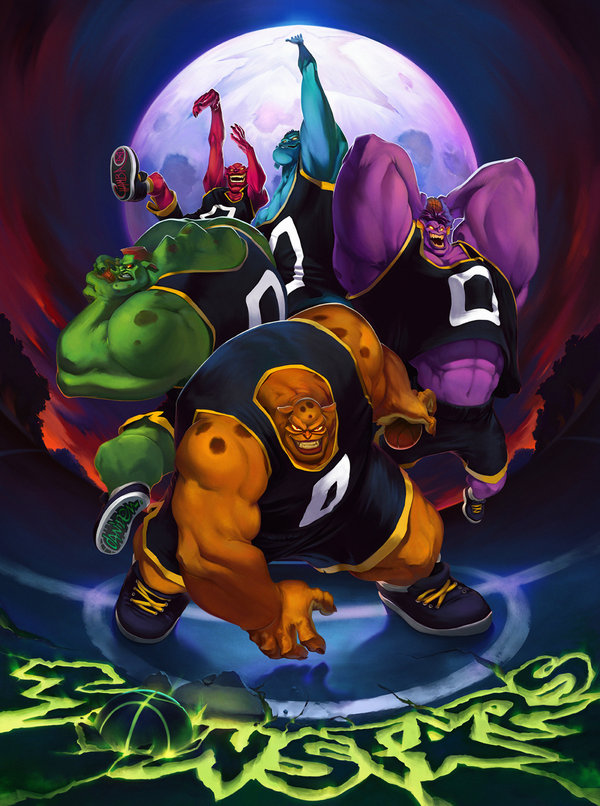 Space Jam Images The Monstars Hd Wallpaper And Background