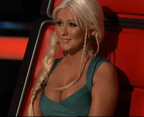 Christina Aguilera images The Voice HD wallpaper and background photos