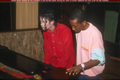 The artist at work - michael-jackson photo