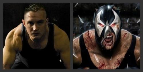 Tom Hardy as Bane (Fan art)