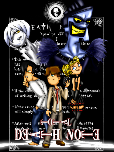 Total Drama Island ;;x;; DEATH NOTE