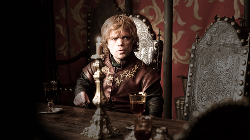 Tyrion Lannister wallpaper with a throne called Tyrion Lannister