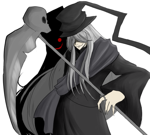 Undertaker from Kuroshitsuji wallpaper entitled Undertaker