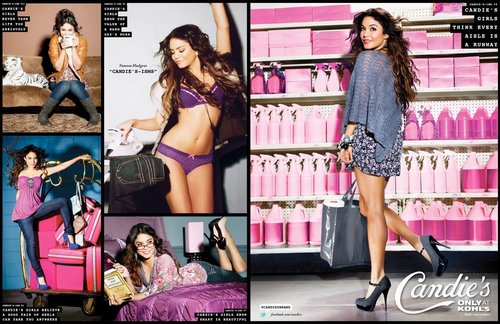 Vanessa - Candies Brand - Fall Collection [Print & Web Ads] 2011