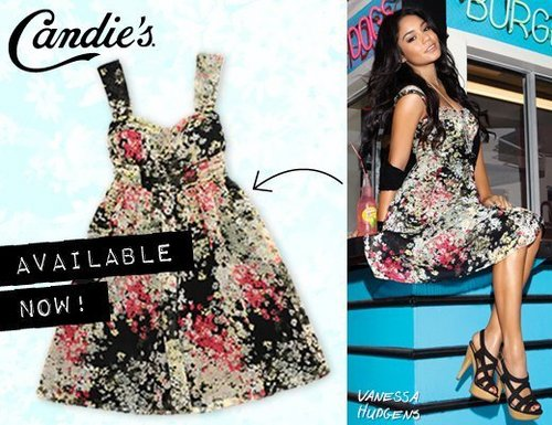 Vanessa - Candies Brand - Summer Collection [Print & Web Ads] 2011