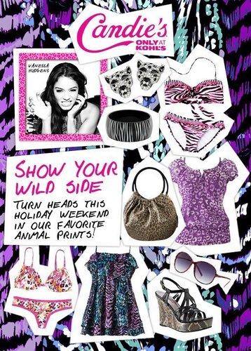 Vanessa - Candies Brand - Summer Collection [Print & Web Ads] 2011