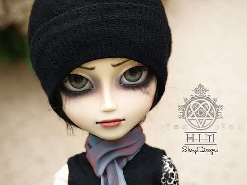 Ville Valo 壁纸 titled Ville Valo doll