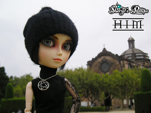 Ville Valo doll