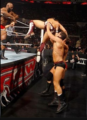 WWE All سٹار, ستارہ six man tag match