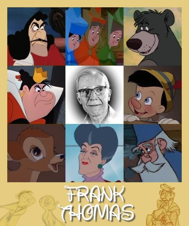 Walt Disney Characters Walt Disney Animators - Frank ThomasOld Man Cartoon Character Disney