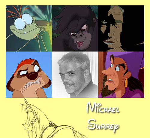 Walt 디즈니 Animators - Michel Surrey