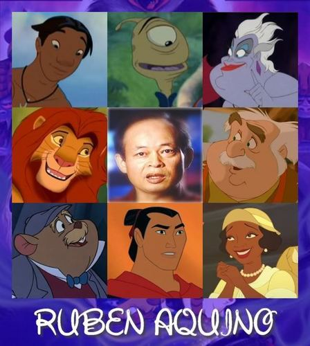 Walt Disney Animators - Ruben Aquino