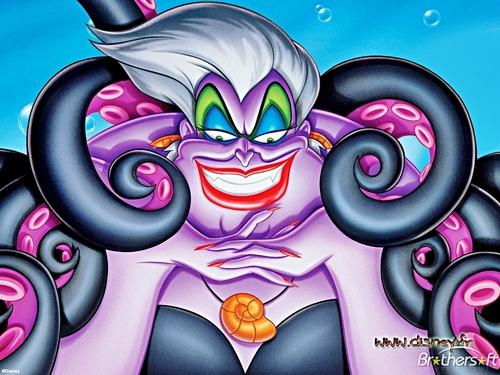Walt ডিজনি দেওয়ালপত্র - Ursula
