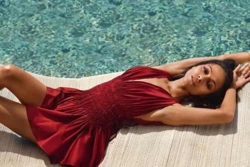 Zoe Saldana in Be Magazine