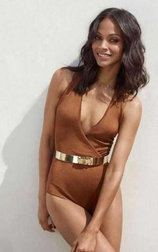 Zoe Saldana in Be Magazine