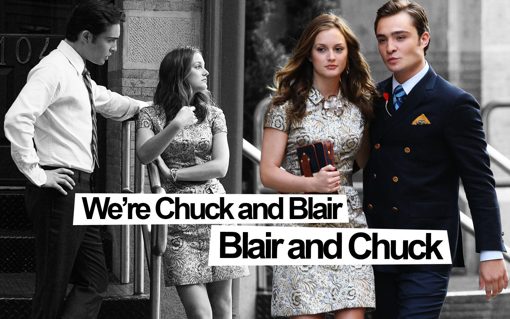 Dan and Blair vs Chuck...