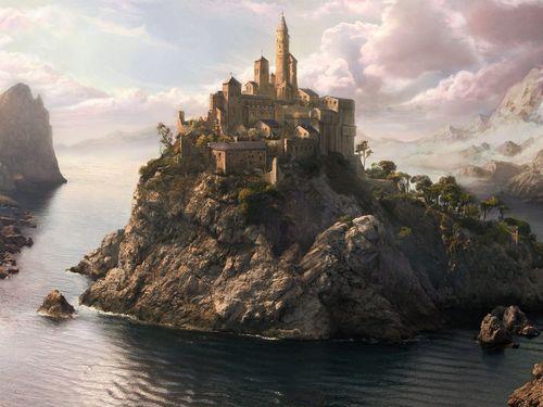 fantasy art scenery patrick jensen