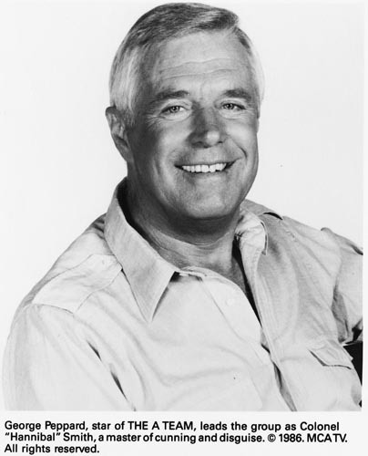 Hannibal Smith Of The A Team Images George Peppard Wallpaper And Background Photos