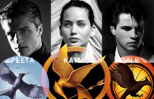 katniss,peeta and gale