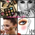 makeup collage - youtube-makeup-gurus fan art