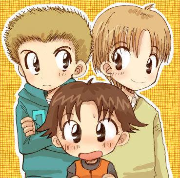 miiko, tappei, and yoshida