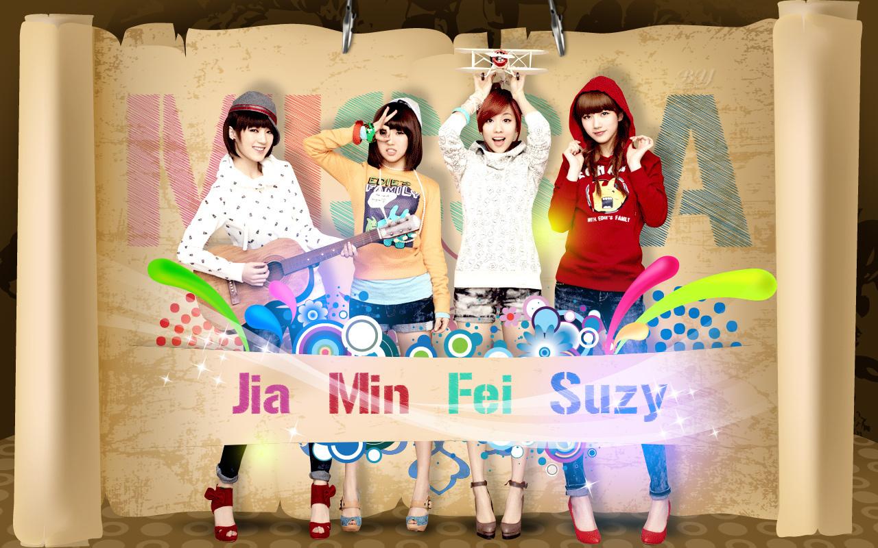 Miss A Kpop Wallpaper 22947042 Fanpop