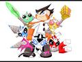 monkey team - super-robot-monkey-team-hyper-force-go fan art