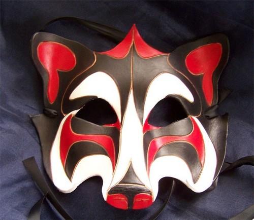 my 狼 mask