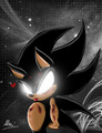 naughty superdark sonic <3 - sonic-the-hedgehog photo