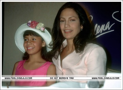 Selena (the movie) वॉलपेपर with a fedora and a boater entitled press-conference-1996