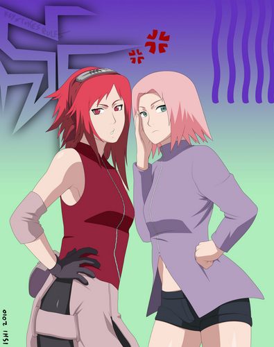 sakura and karin
