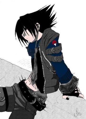 sasuke uchiwa the emo boy avenger