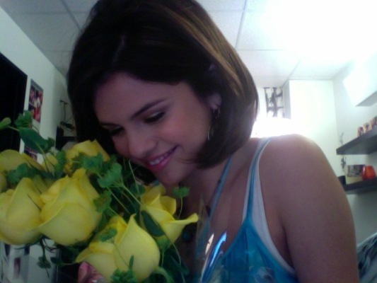 selena gomez birthday flowers and selena gomez birthday yellow roses - selena-gomez photo