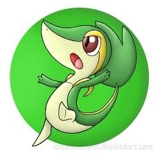 snivy the awsome گھاس snake pokemon