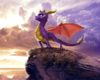 spyro movie back round