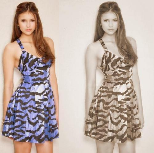 the beautiful nina dobrev <3