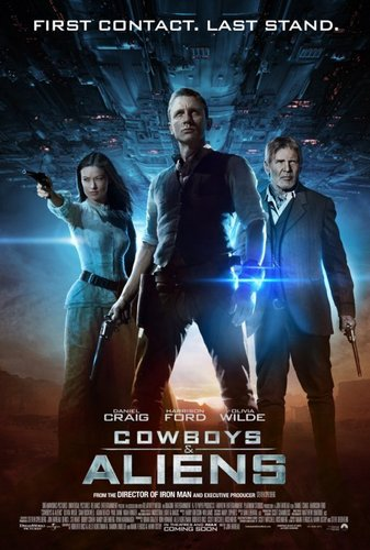'Cowboys & Aliens' International Promotional Poster