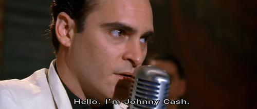 """Hello, i'm Johnny Cash"""