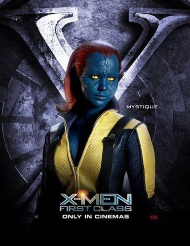 'X-Men: First Class' poster - jennifer-lawrence Photo