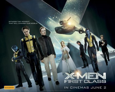 'X-Men: First Class' poster