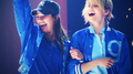 Achele @ Glee Live.  - lea-michele-and-dianna-agron photo