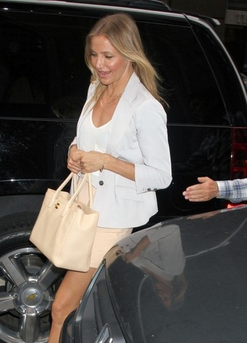 Actress Cameron Diaz is spotted out and about in New York City.