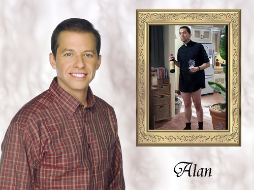 Alan - two-and-a-half-men Wallpaper