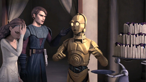 Anakin and Padmé