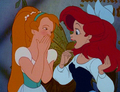 Ariel and Thumbelina