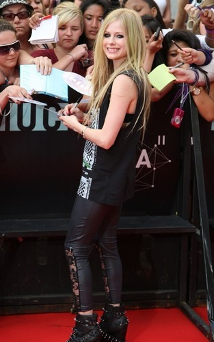 Avril Lavigne at the 2011 MuchMusic Video Awards (June 19).