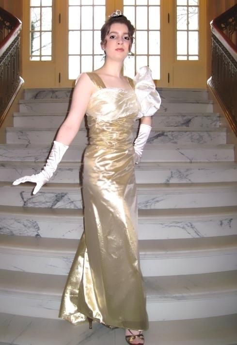 Baroness Schraeder's Party Dress
